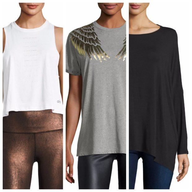 Модная длина маек футболок и топов весна-лето 2019