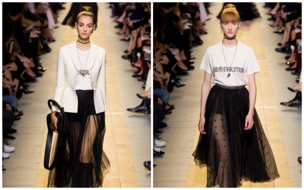 Модные футболки Christian Dior