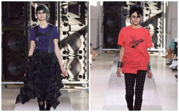 Модные футболки Junya Watanabe 2