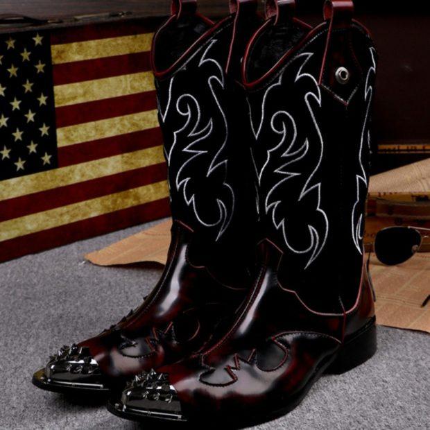 модные ботинки ковбойские женские