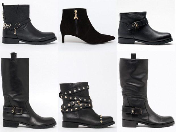 ботинки осень зима 2018 2019 черные