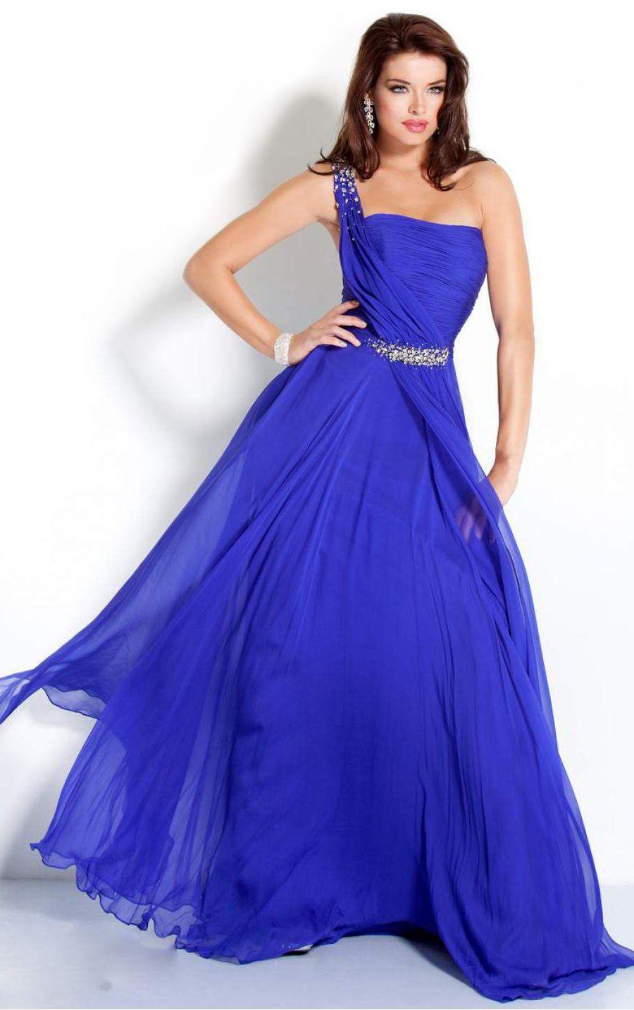 с чем сочетается синий цвет: платье вечернее ультрамариновое