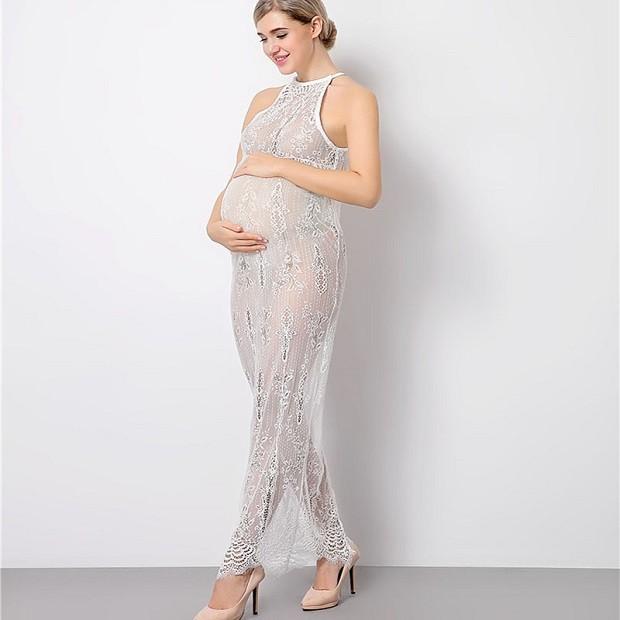 одежда для беременных: платье нежное