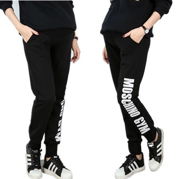 одежда для беременных 2019: штаны черные