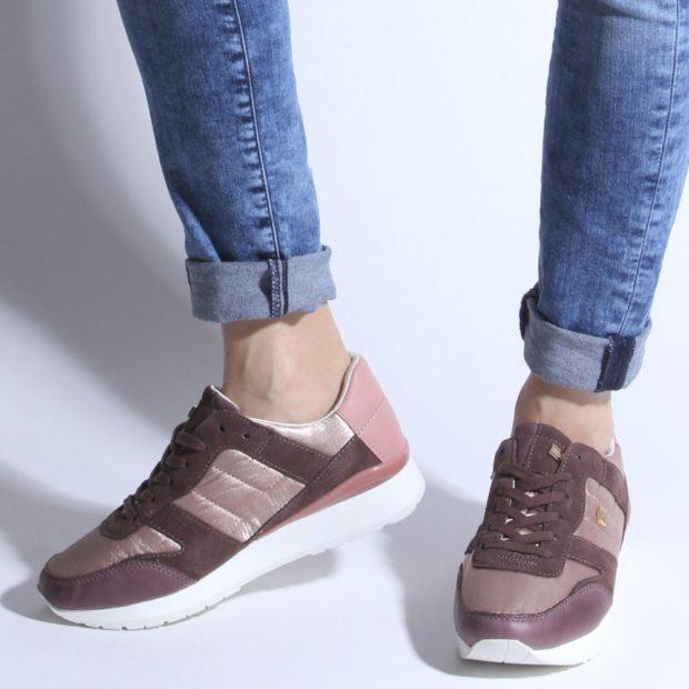 женские кроссовки женские коричневые