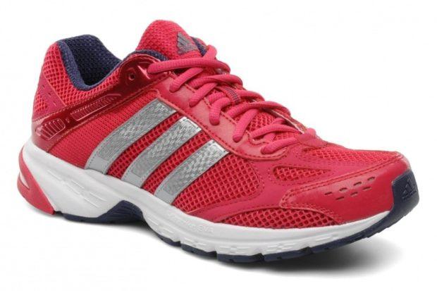 кроссовки Adidas красные женские