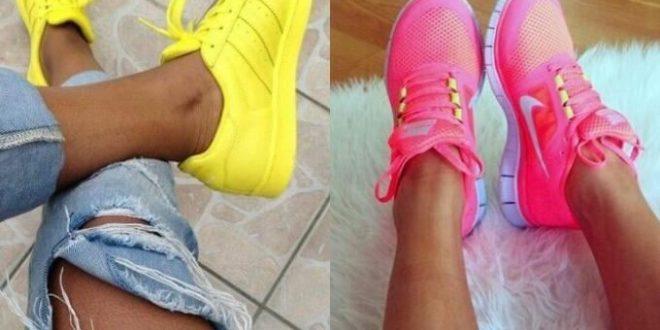Самые модные женские кроссовки 2018-2019 года. Тенденции и фото.