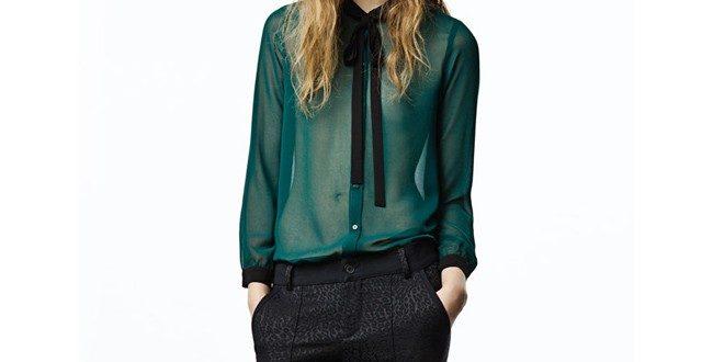 Модные блузки из шифона 2020-2021: фото