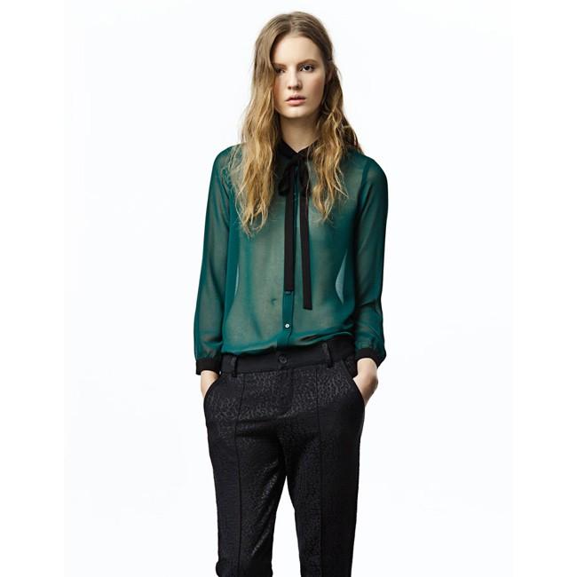 modnie_bluzki_iz_shifona_2018_43 Жми! Модные блузки из шифона 2019-2020 года тенденции 70 фото