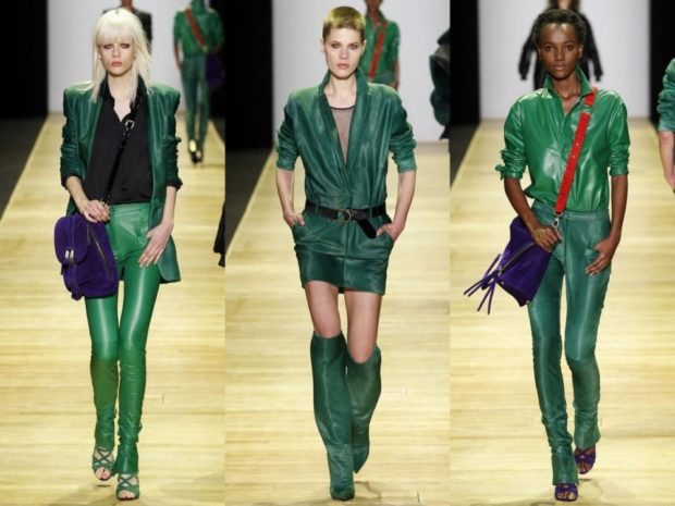 модные цвета осень зима зеленые вещи 2018 2019