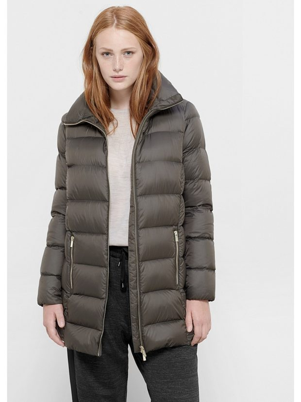 серая куртка зимняя модные
