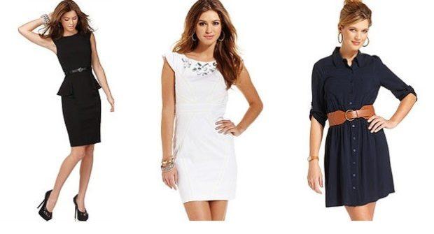 модные образы на 1 сентября 2018 платья черное белое