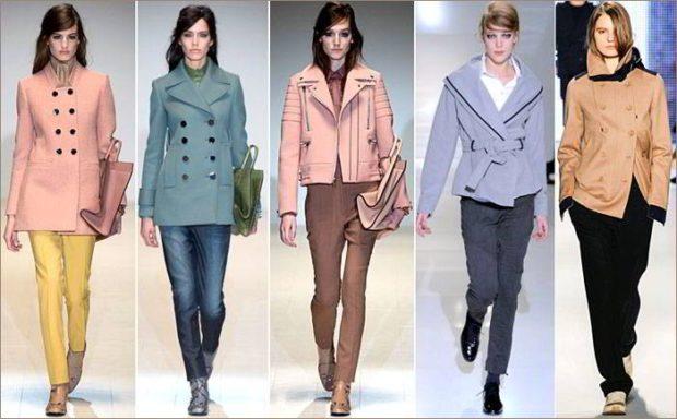 модные пальто осень-зима 2019-2020: короткие под штаны