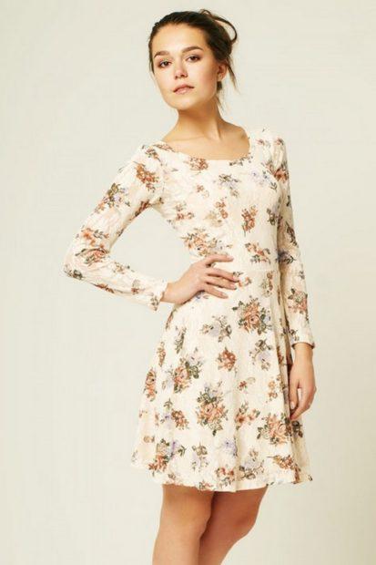 модные платья на 2018 летнее белое короткое