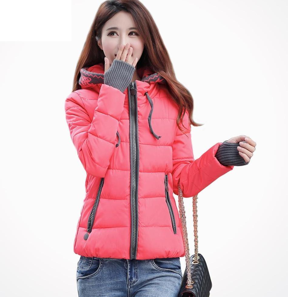 модные пуховики осень зима 2018 2019: куртка стеганая розовая с серым короткая
