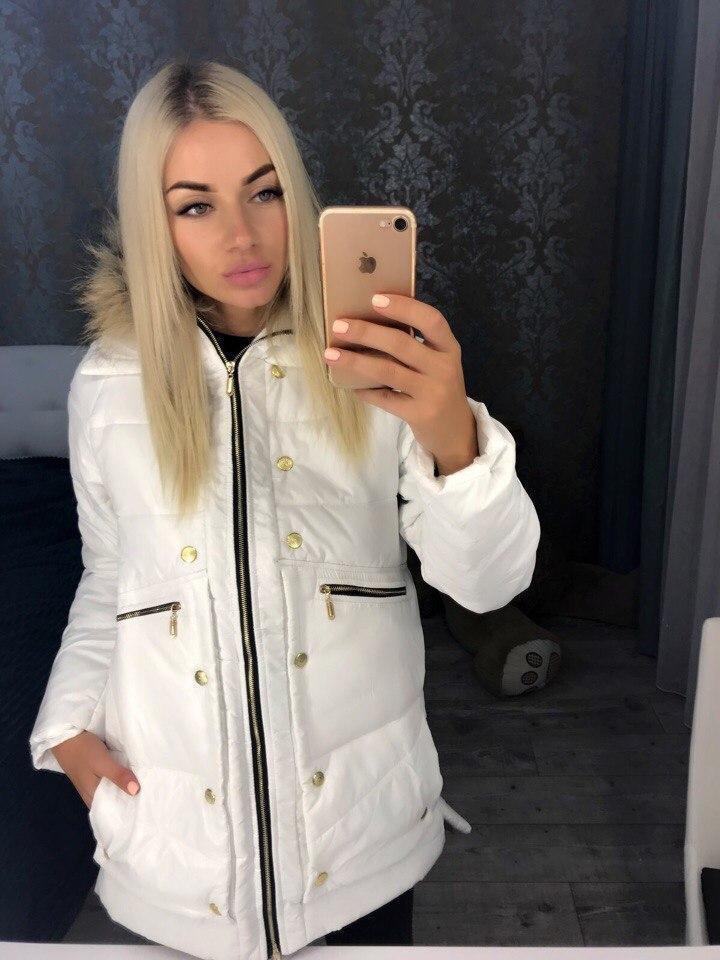 модные пуховики осень зима 2018 2019: куртка стеганая белая с капюшоном