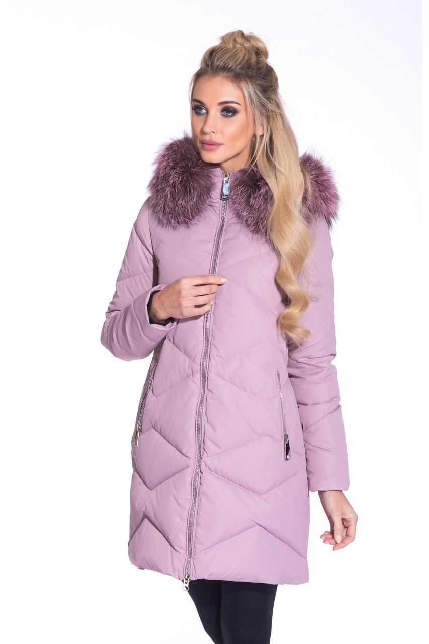модные пуховики осень зима 2018 2019: куртка стеганая с мехом