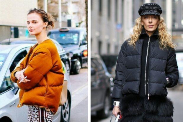 куртка коричневая стеганая короткая черная короткая