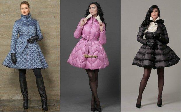 фасон платье стеганное серое розовое черное