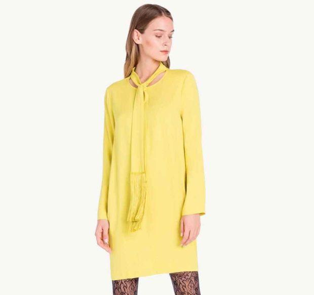 модные сеты: желтый лук