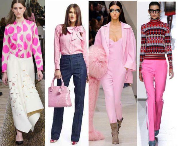 модный сет: розовый лук