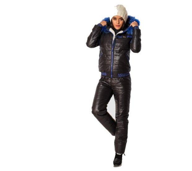 модные спортивные костюмы 2018 дутый черный