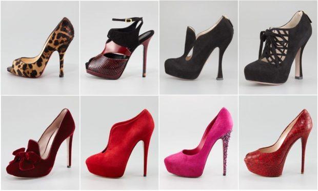 модные туфли 2018-2019 варианты моделей на шпильке