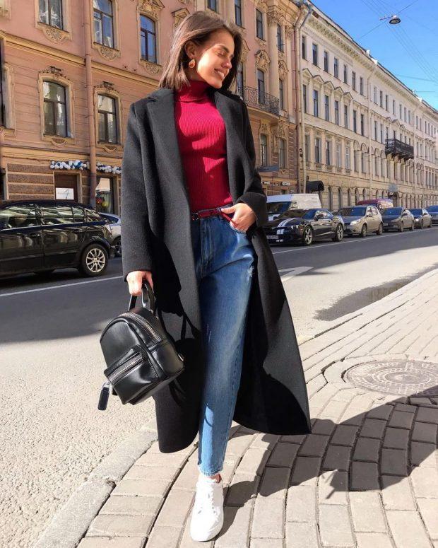 Модные цвета сезона осень зима 2019-2020: черный бордовый синий