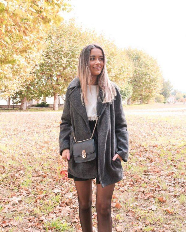 Модные цвета сезона осень зима 2019-2020: серый