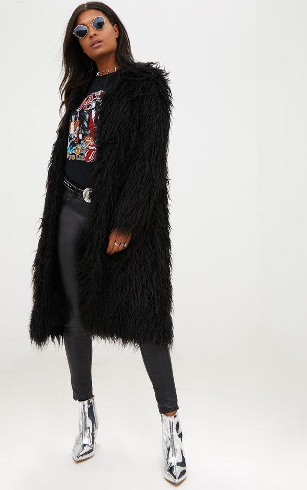 луки 2019-2020: меховой пиджак