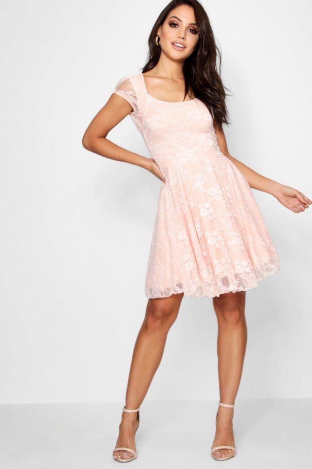 выпускное платье: розовое