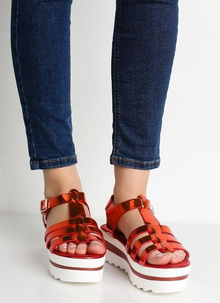 босоножки обувь на тракторной подошве с чем носить под темные джинсы