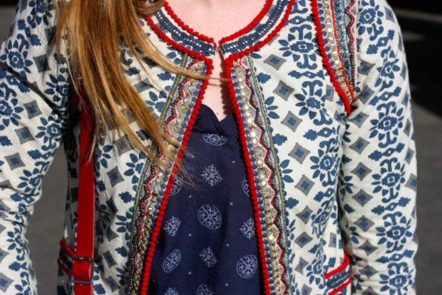 пиджаки женские модные: в этнический узор