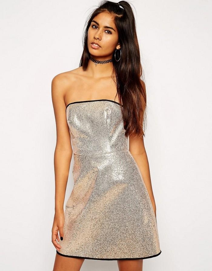 платья на каждый день 2019 2019 года платье с открытыми плечами блестящее