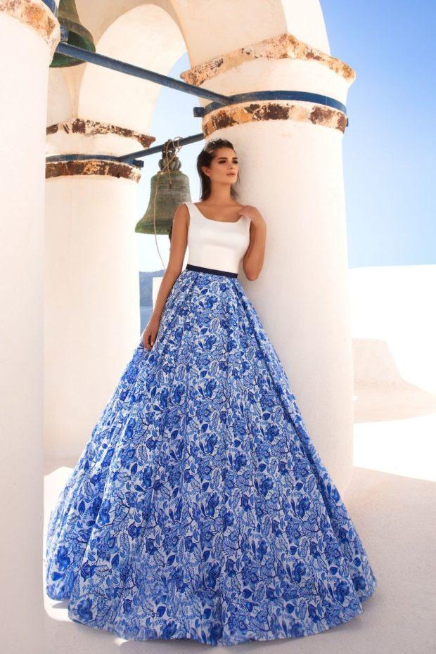 платье для выпускного: пышная юбка верх майка