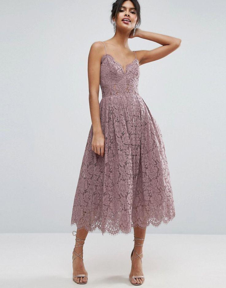 платья выпускные 2018 гипюровое светлое миди