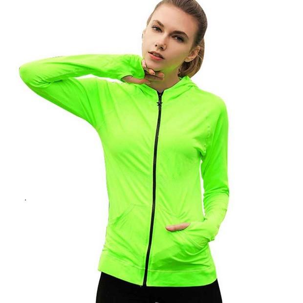 Спортивная мода весна-лето 2018: куртка салатная