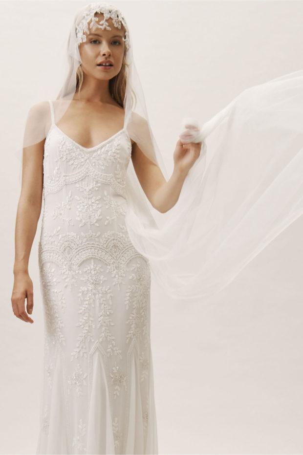 Модная свадьба: фата