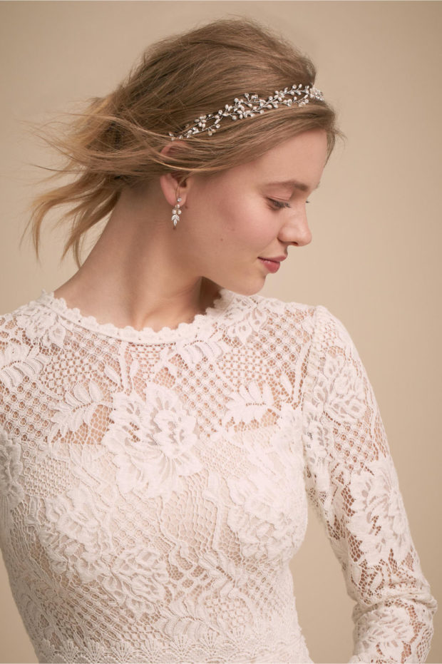 Свадебная мода: прическа