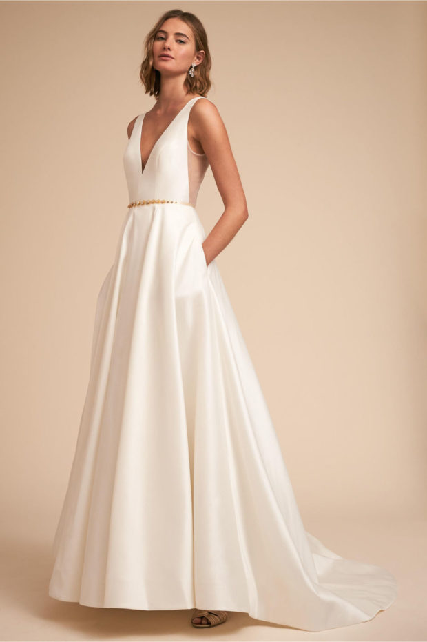свадебная мода: платье белое греческое