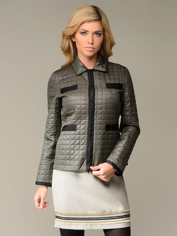 тенденции осени и зимы: стеганая куртка осенняя
