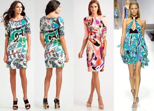 платья легкие шифоновые