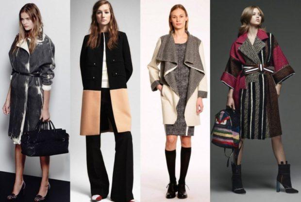Тренды осень зима 2018 2019: пальто кэжуал