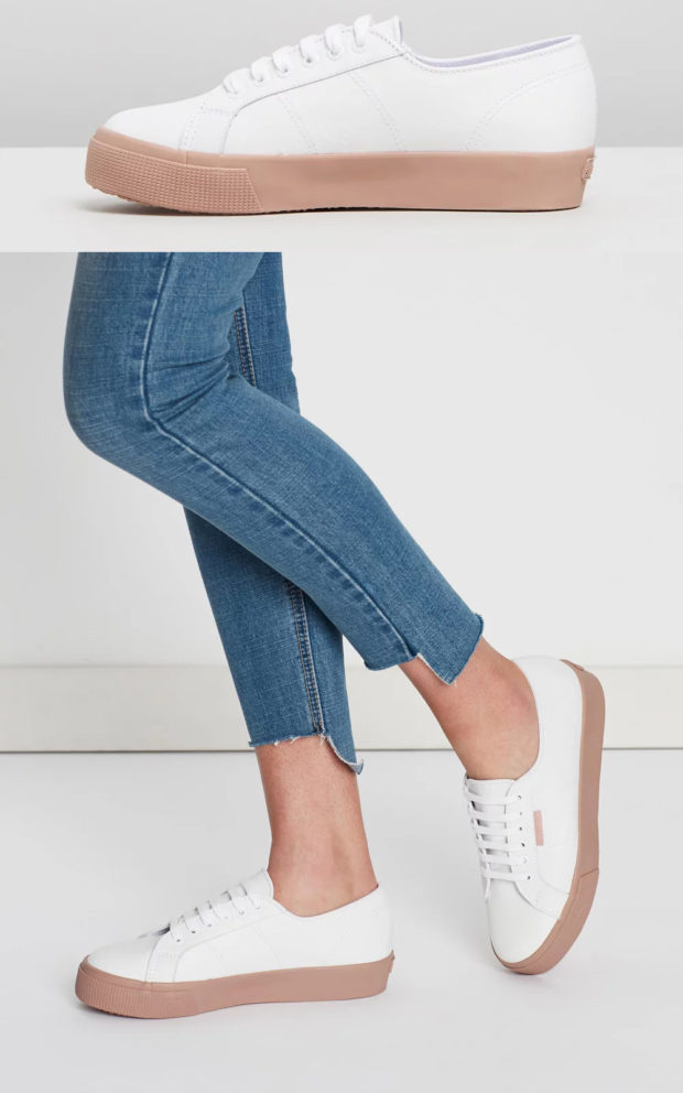 Кроссовки на платформе