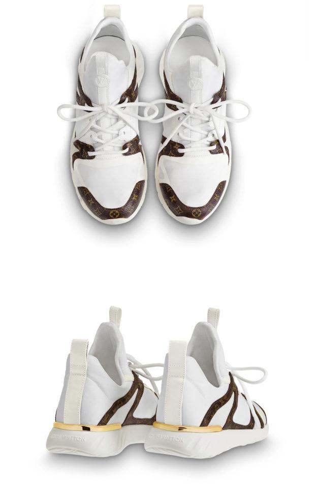 тренды в женских кроссовках: Луи Витон