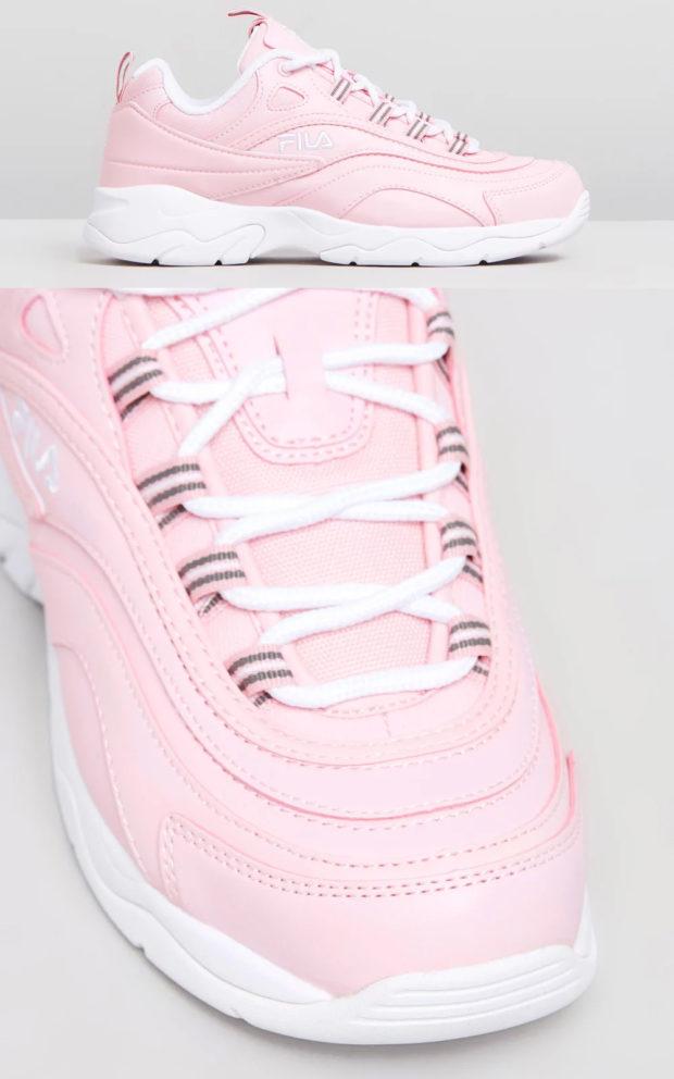 фото женских кроссовок: Фила