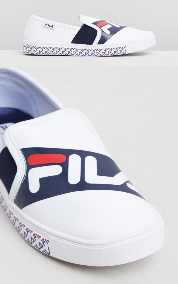жфото женских кроссовок: Фила