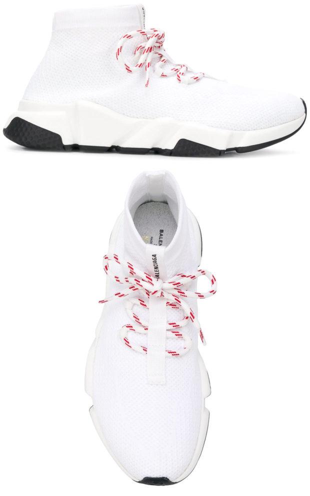 фото женских кроссовок: Баленсиага
