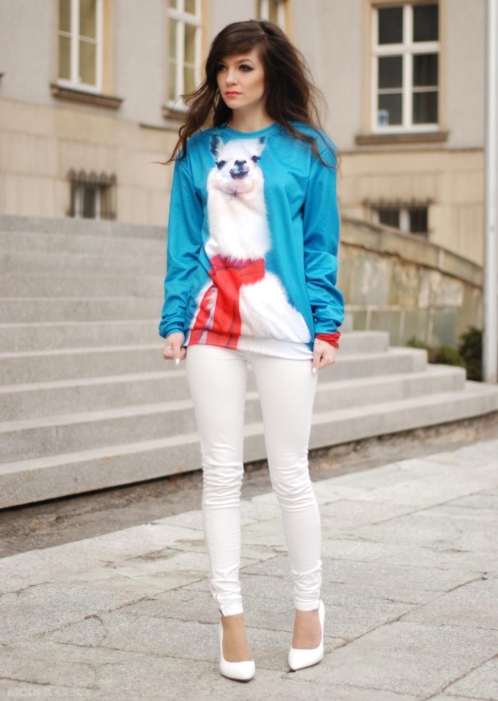 Белые брюки женские: классические штаны под кофту спортивную яркую