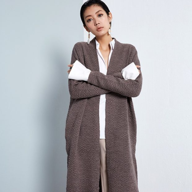 Модные кардиганы осень зима 2019 2020 теплый из мериноса